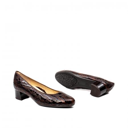 Pantofi eleganti dama, piele naturala lacuita, AR16601 M3