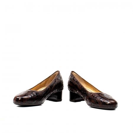 Pantofi eleganti dama, piele naturala lacuita, AR16601 M4