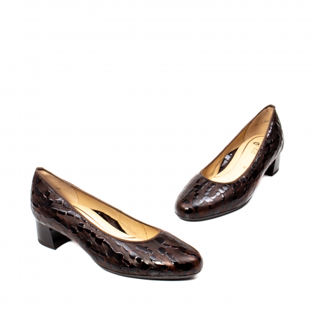 Pantofi eleganti dama, piele naturala lacuita, AR16601 M1