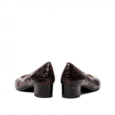 Pantofi eleganti dama, piele naturala lacuita, AR16601 M6