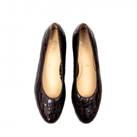 Pantofi eleganti dama, piele naturala lacuita, AR16601 M5