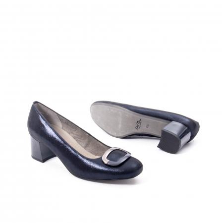Pantofi eleganti dama, piele naturala Ara 12-35534, bleumarin3