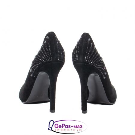 Pantofi eleganti dama, piele naturala de antilopa, C09A1975
