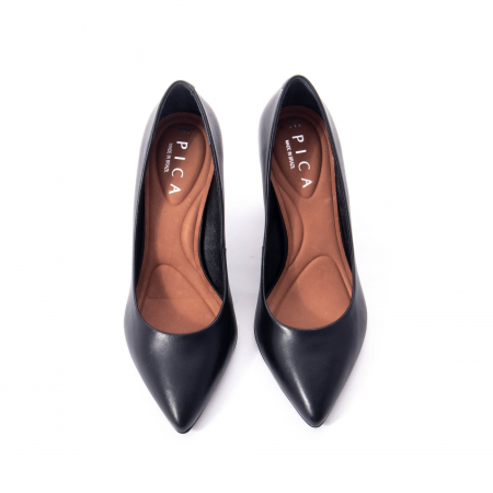 Pantofi eleganti dama, piele naturala,Epica 9288 negru3