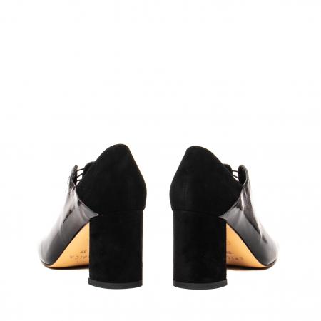 Pantofi eleganti dama, piele naturala lacuita, F82546A N6