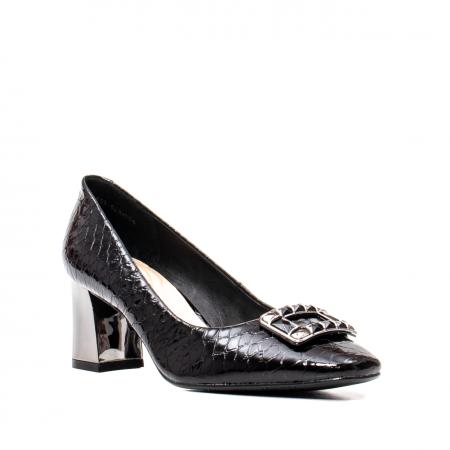 Pantofi eleganti dama, piele naturala lacuita, OE2109 [0]