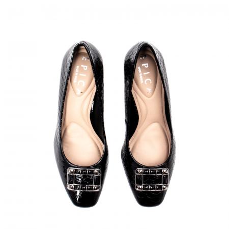 Pantofi eleganti dama, piele naturala lacuita, OE2109 [5]