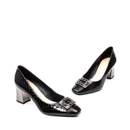 Pantofi eleganti dama, piele naturala lacuita, OE2109 [1]