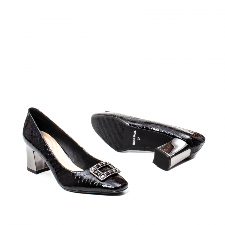 Pantofi eleganti dama, piele naturala lacuita, OE2109 [3]