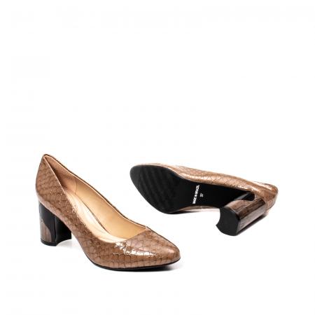 Pantofi eleganti dama, piele naturala lacuita, OE88263