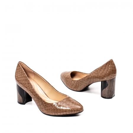 Pantofi eleganti dama, piele naturala lacuita, OE88262