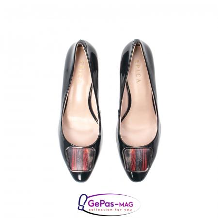 Pantofi eleganti dama, piele naturala lacuita, X1405