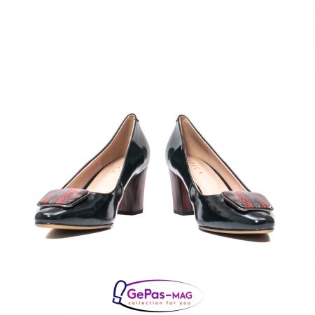 Pantofi eleganti dama, piele naturala lacuita, X1404