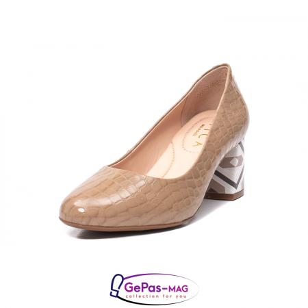 Pantofi eleganti dama, piele naturala, OE5350