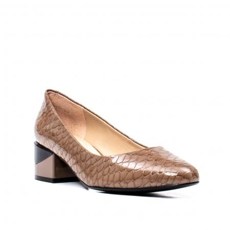 Pantofi eleganti dama, piele naturala, OE98250