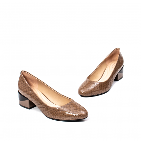 Pantofi eleganti dama, piele naturala, OE98251