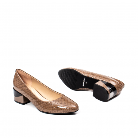 Pantofi eleganti dama, piele naturala, OE98253