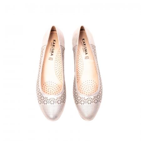 Pantofi dama eleganti, piele naturala peliculizata, K5205