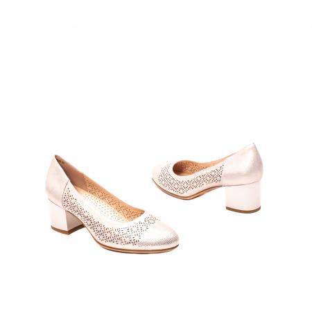 Pantofi dama eleganti, piele naturala peliculizata, K5202