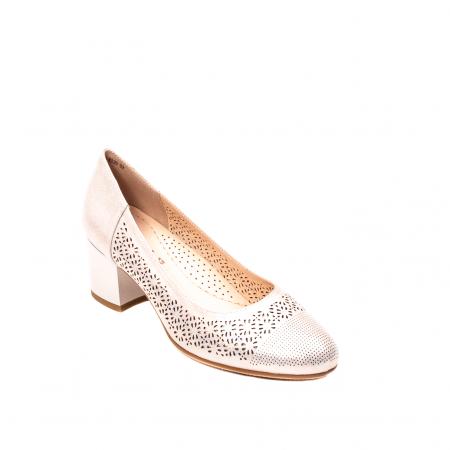 Pantofi dama eleganti, piele naturala peliculizata, K5200