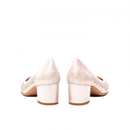 Pantofi dama eleganti, piele naturala peliculizata, K5206