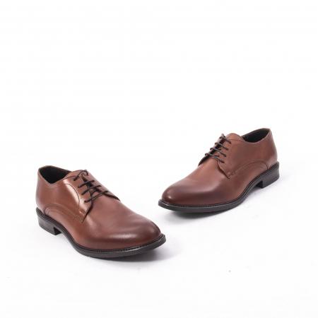 Pantofi eleganti barbati piele naturala, Catali 192545 coniac1