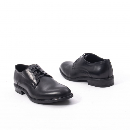 Pantofi eleganti barbati piele naturala, Catali 192545 negru2