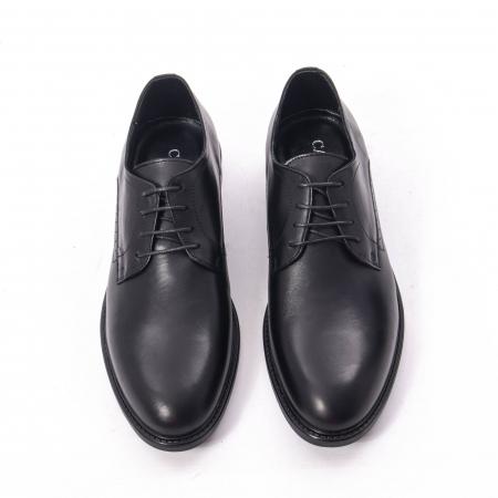 Pantofi eleganti barbati piele naturala, Catali 192545 negru5