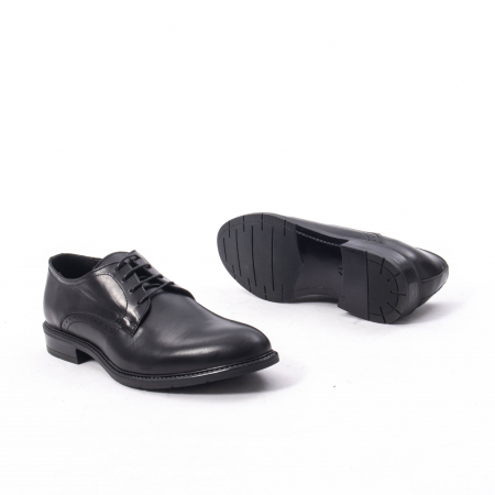 Pantofi eleganti barbati piele naturala, Catali 192545 negru3