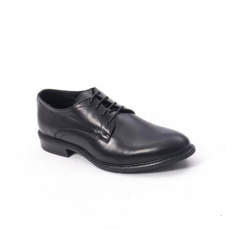 Pantofi eleganti barbati piele naturala, Catali 192545 negru0