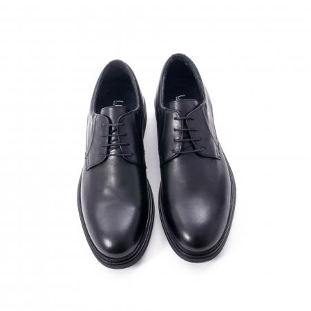 Pantofi eleganti de barbat din piele naturala,  998 negru5