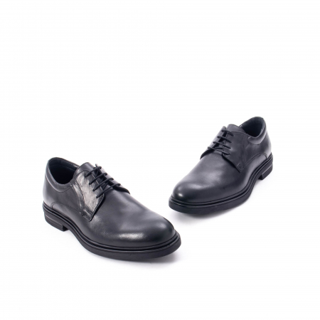 Pantofi eleganti de barbat din piele naturala,  998 negru1