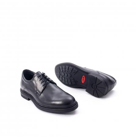 Pantofi eleganti de barbat din piele naturala,  998 negru3