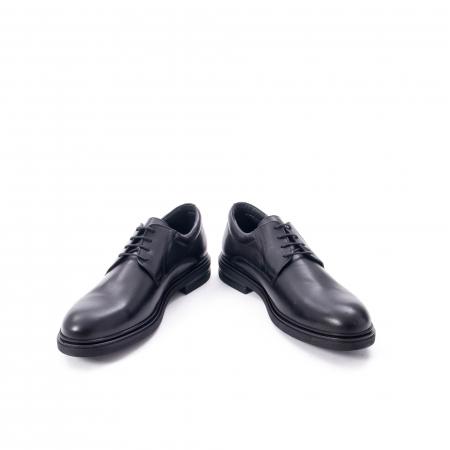 Pantofi eleganti de barbat din piele naturala,  998 negru4