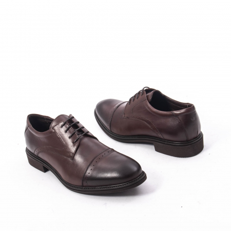 Pantofi eleganti de barbat,piele naturala Catali 172558 maro2