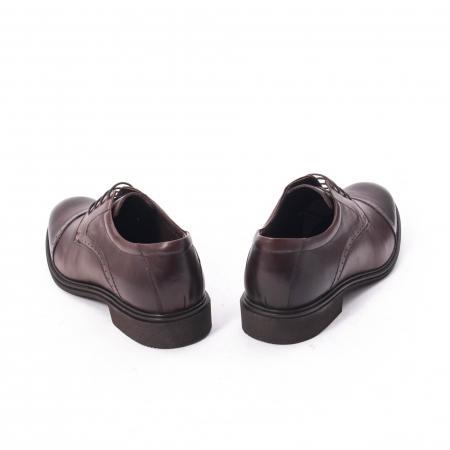 Pantofi eleganti de barbat,piele naturala Catali 172558 maro6