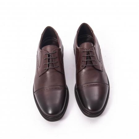 Pantofi eleganti de barbat,piele naturala Catali 172558 maro5