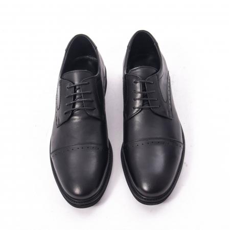 Pantofi eleganti de barbat,piele naturala Catali 172558 negru5
