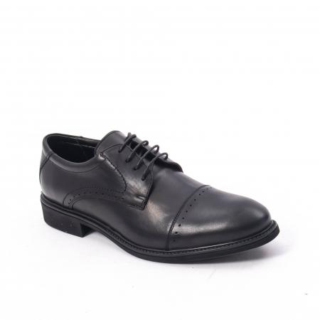 Pantofi eleganti de barbat,piele naturala Catali 172558 negru0