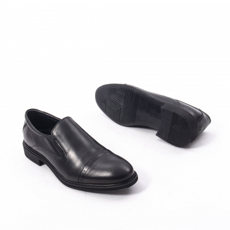 Pantofi eleganti barbati piele naturala Catali 172559, negru3