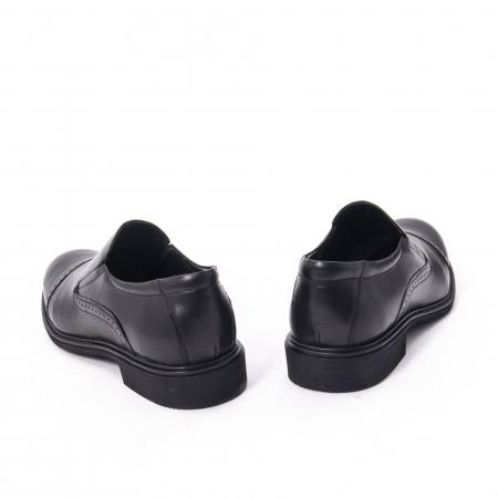 Pantofi eleganti barbati piele naturala Catali 172559, negru6