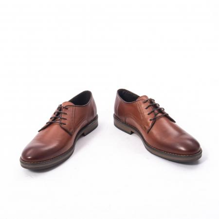 Pantofi eleganti barbat piele naturala Catali 182511, coniac4