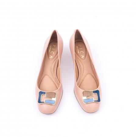 Pantofi eleganti EPICA OE8751 - bej5