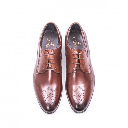 Pantofi eleganti piele naturala  QRF 335655-1 maro5