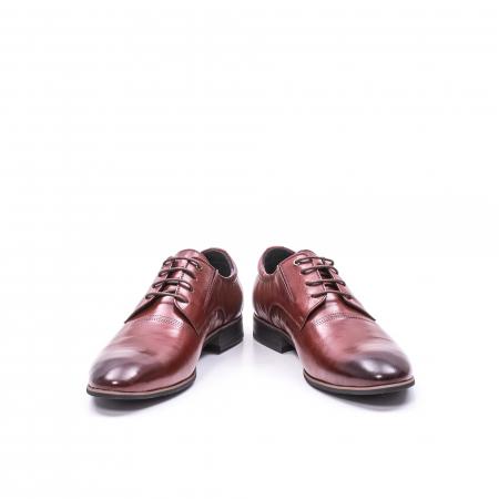 Pantofi eleganti piele naturala QRF 335692-2 23-N maro visiniu4