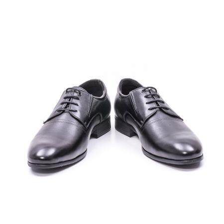 Pantofi eleganti piele naturala QRF 335692 negru2