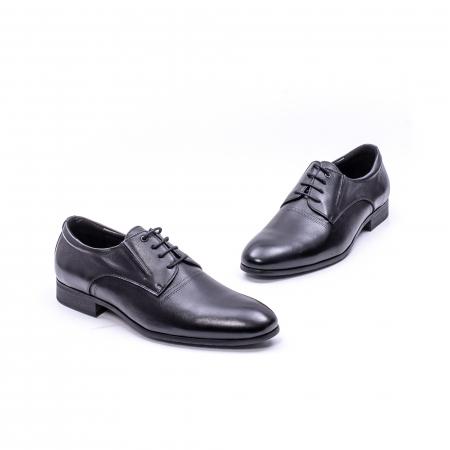 Pantofi eleganti piele naturala QRF 335692 negru5