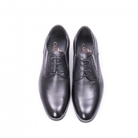 Pantofi eleganti piele naturala QRF 335692 negru3