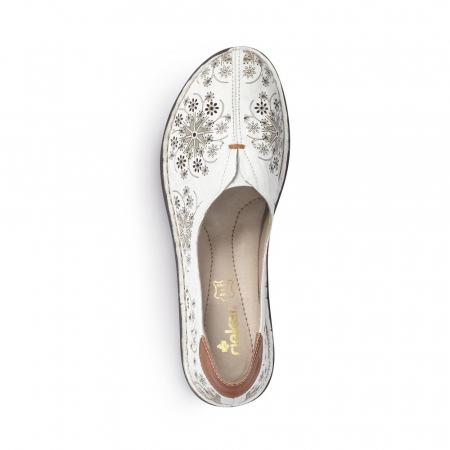 Pantofi dama vara, piele naturala, cod 48456-806