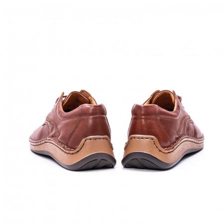 Pantofi Leofex 918 casual barbat piele naturala, maro6